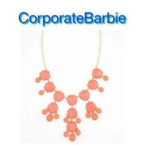 Jewelry - Coral Bubble Necklace